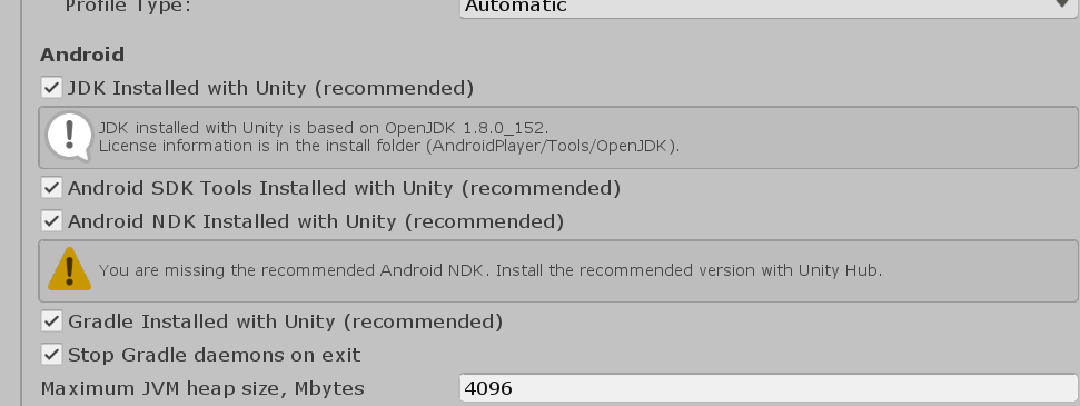 SOLVED) Android NDK missing - Unity Forum
