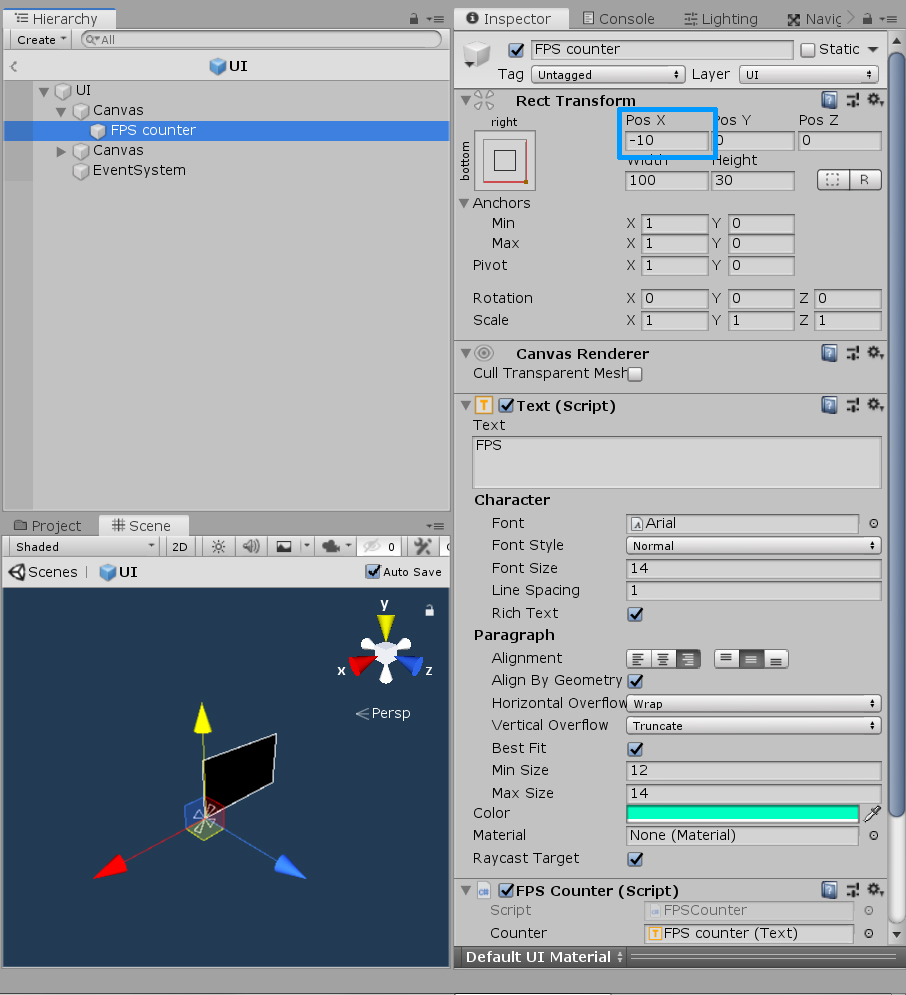 2019 1 0a11: changes not applied in UI text prefab - Unity Forum