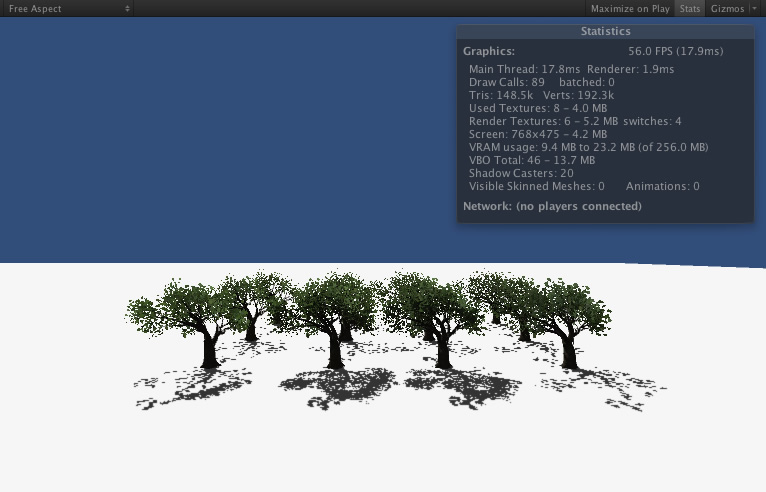 batching trees – and speed up rendering - Unity Forum