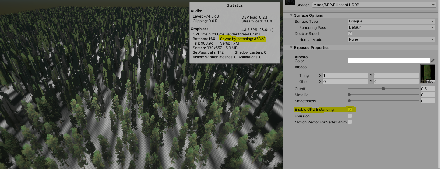 10'000 Terrain Trees with Instancing.PNG
