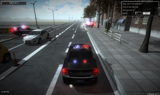 Day 1 Police Gta Games 3d