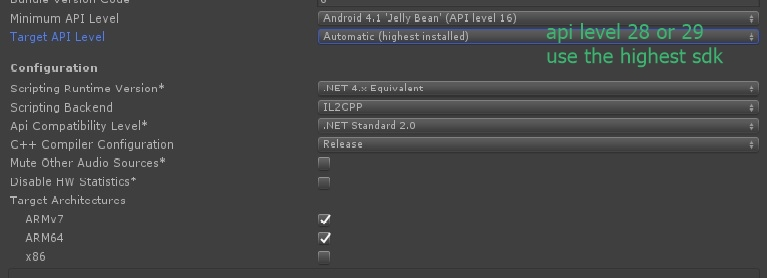 Unity and Google Play 64-Bit Requirement - Unity Forum