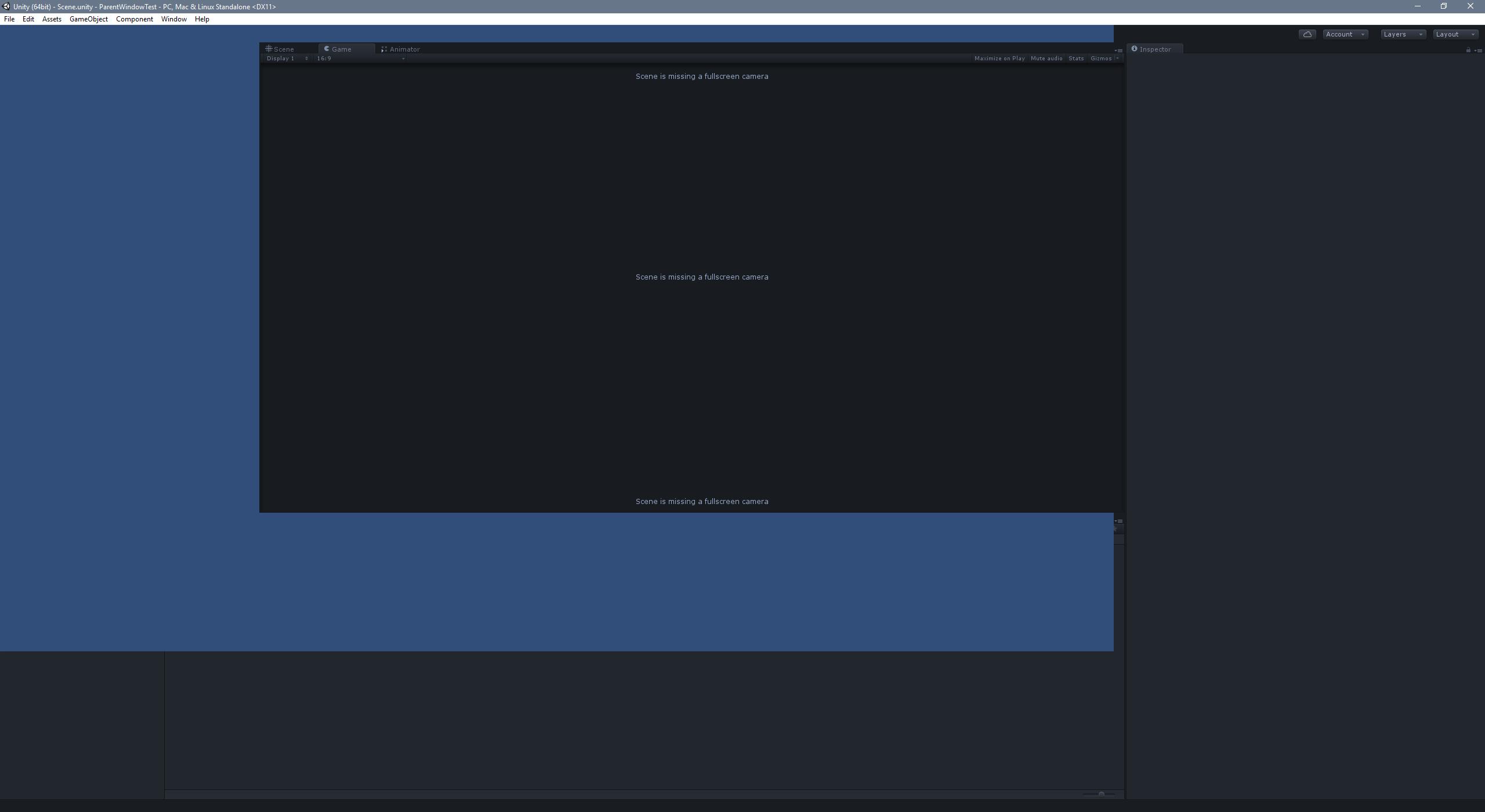 Display outside windows (like command-line application