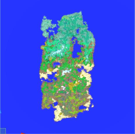 Map Magic World Generator - a node based procedural and infinite