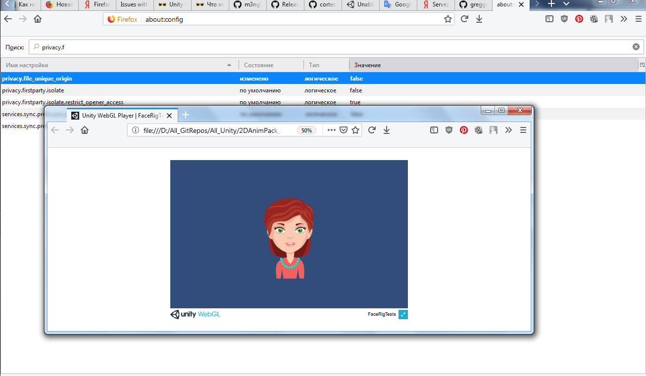 Unable to run local Unity WebGL (file:// url) All browsers
