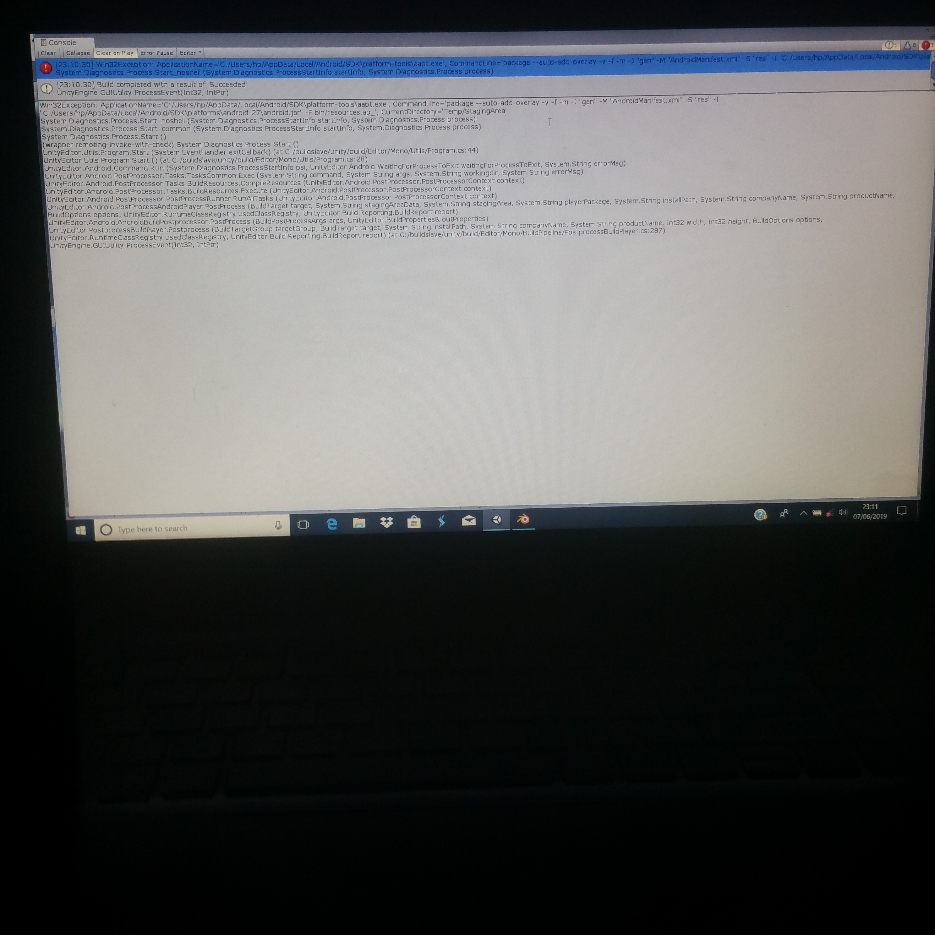 Apk build succeeded but my app doesn't exist - Unity Forum