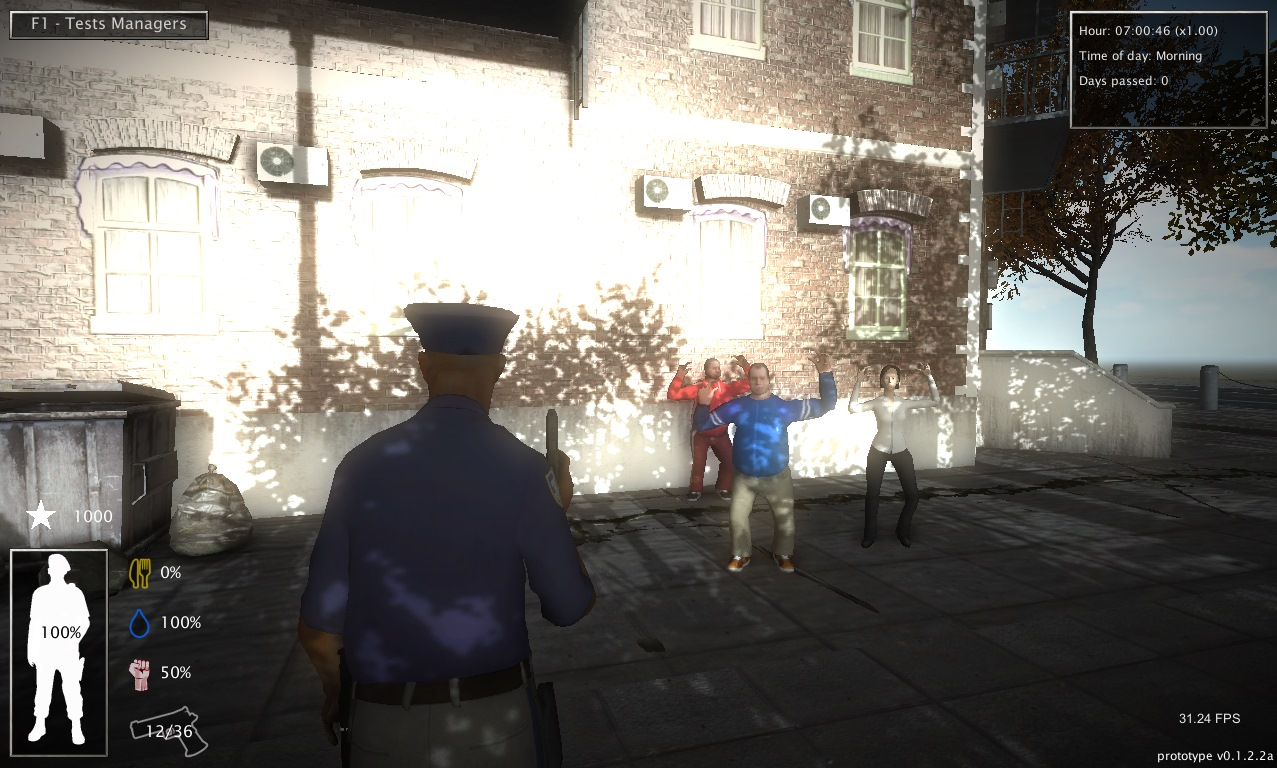 Police tactics an inversion of gta unity community