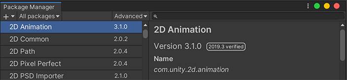 2D Animation in Package Manager.png