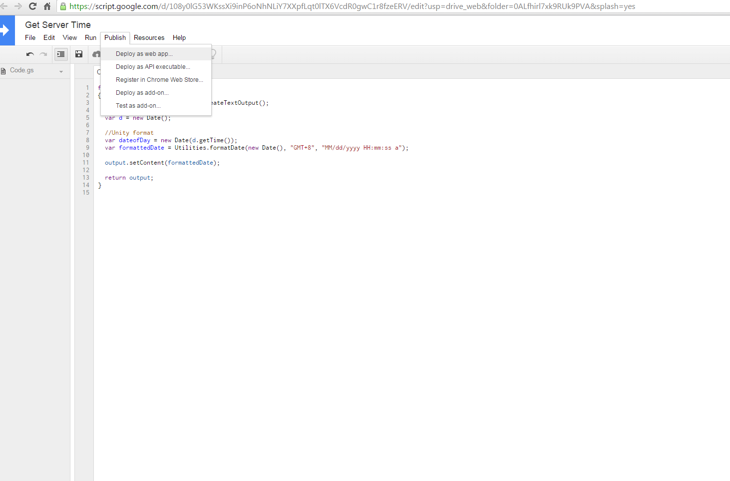 Easy get server time using google script - Unity Forum