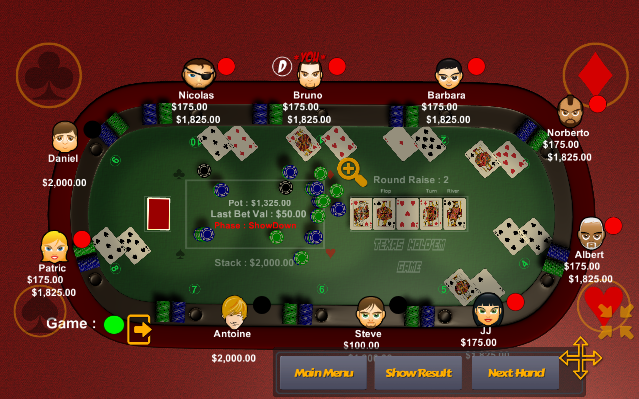 Poker script nulled poker valet blinds