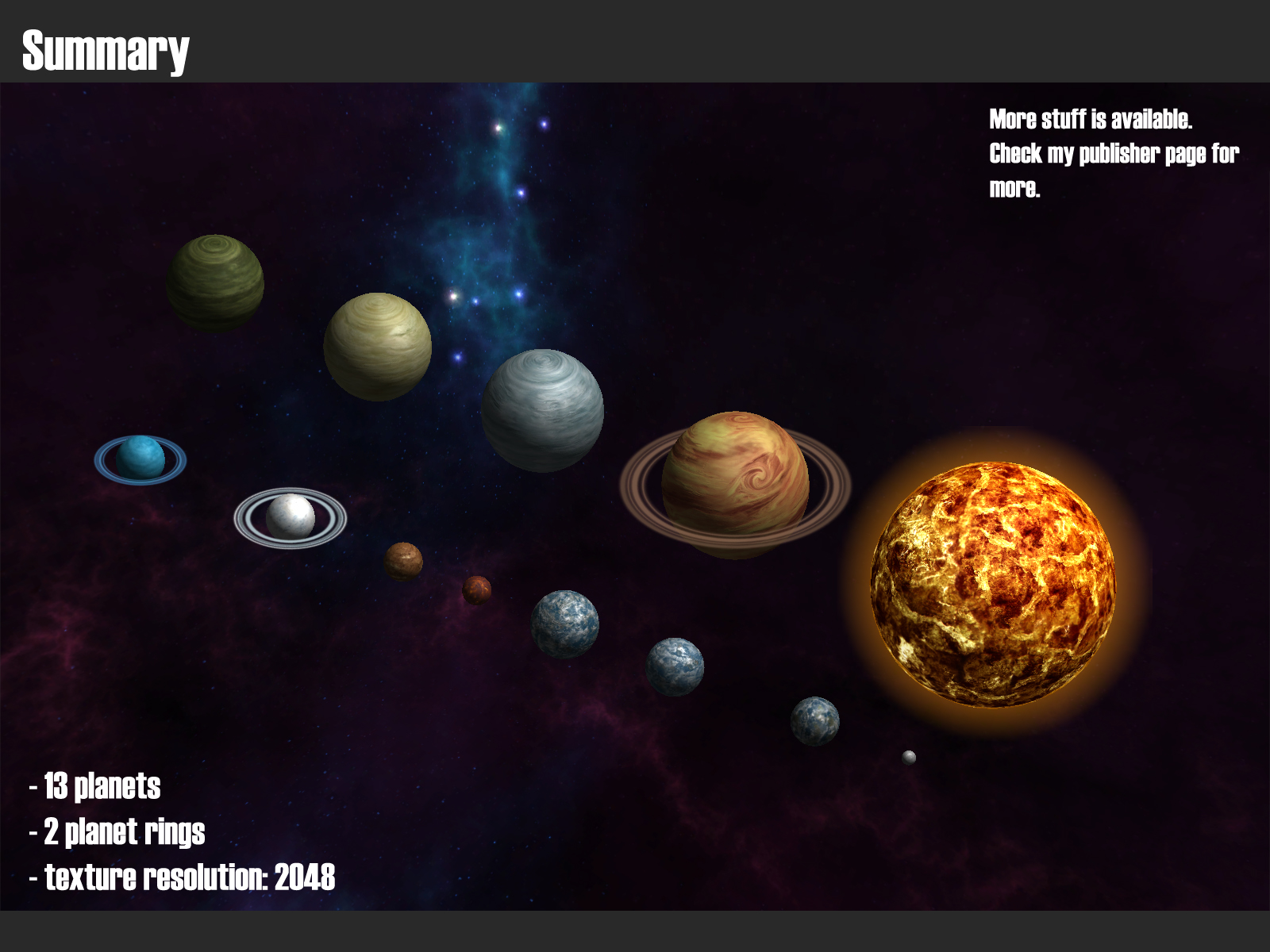 [NEW RELEASE] Planets | Unity Community