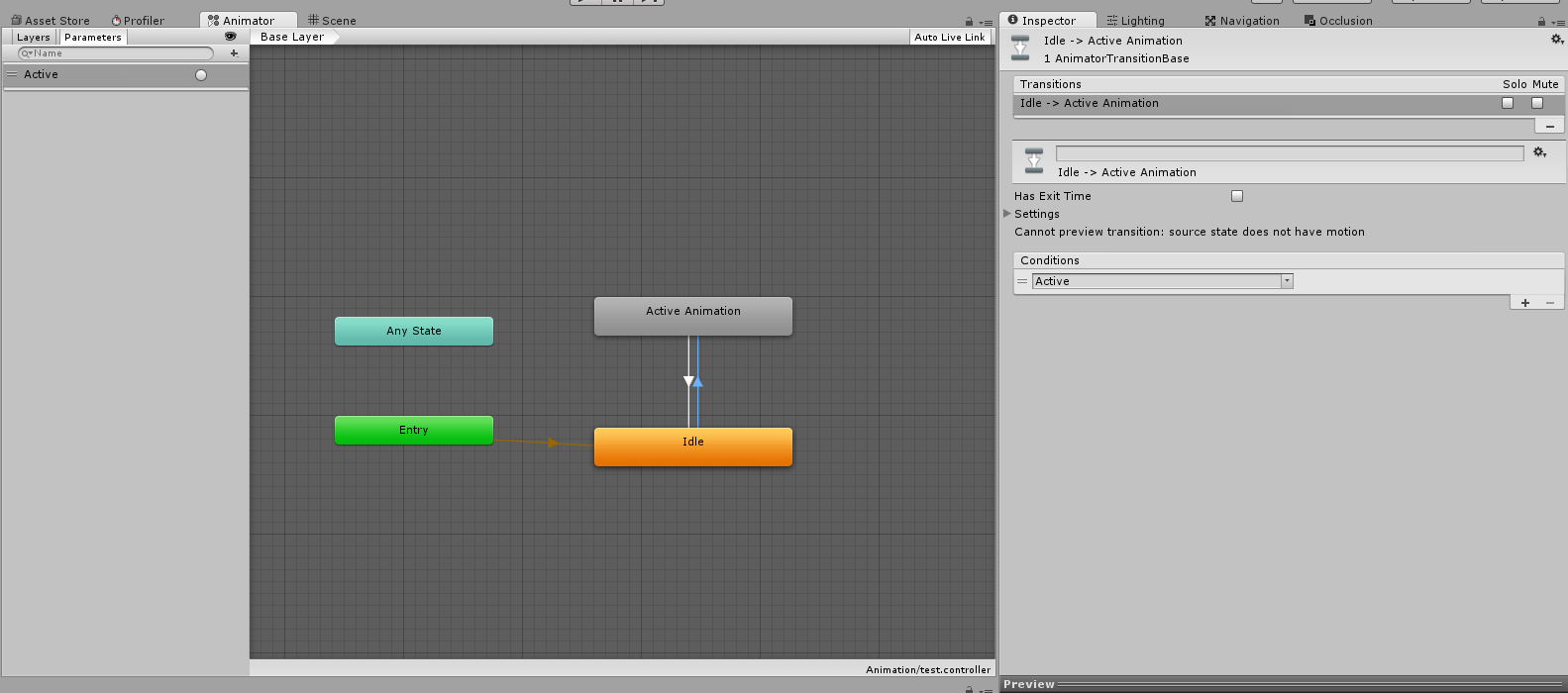 Start Animation on mouse click  - Unity Forum