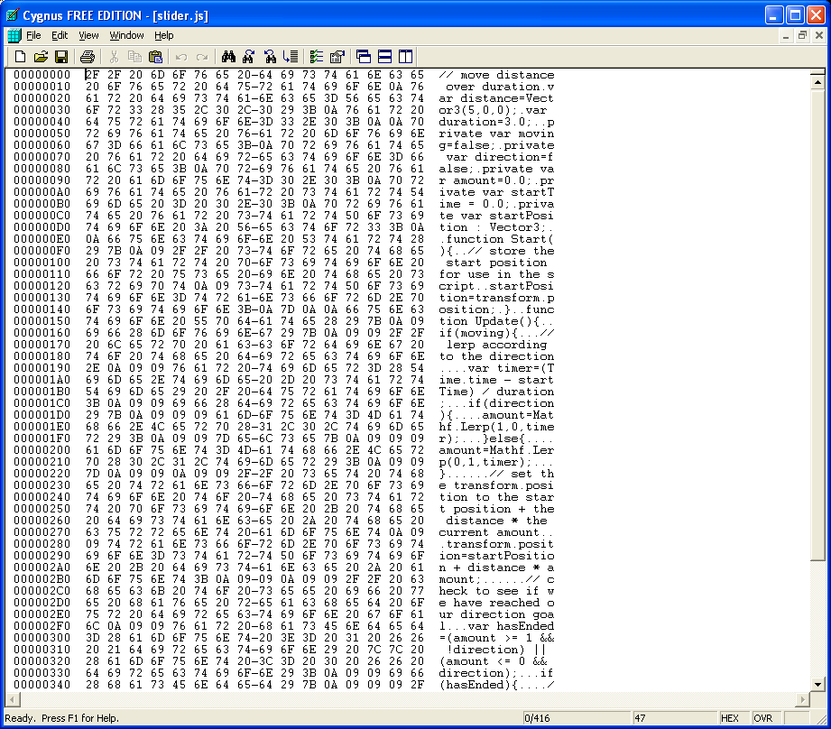 Reading and Writing Ascii Files