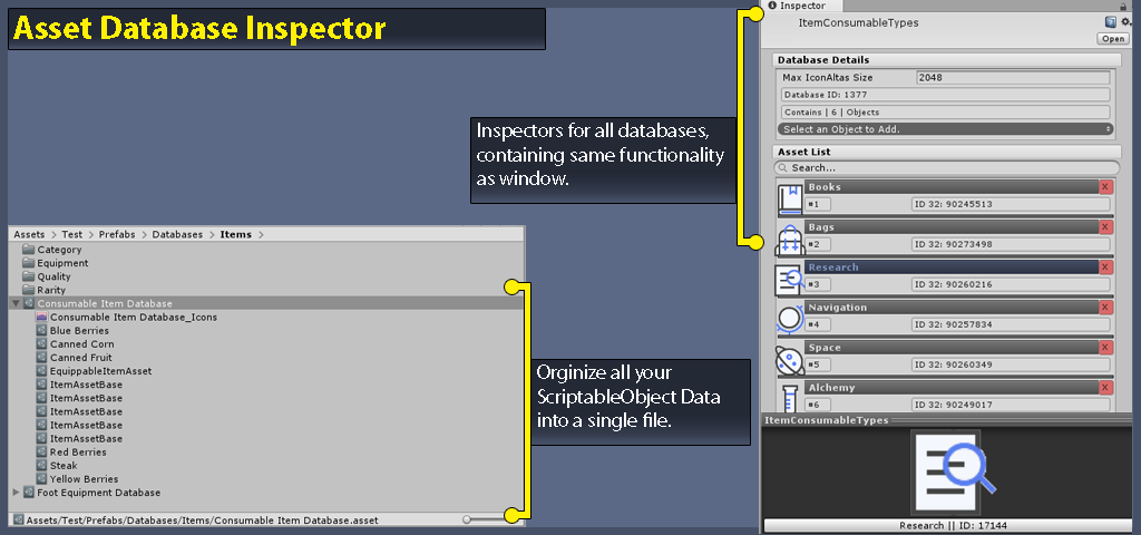 Assets - [RELEASED] ScriptableObject Databases - Unity Forum