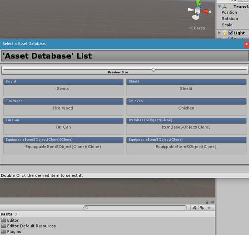 Assets - [RELEASED] ScriptableObject Databases - Unity Forum