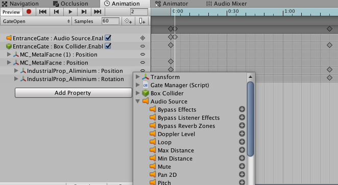 Add sound effect to animation clips - Unity Forum