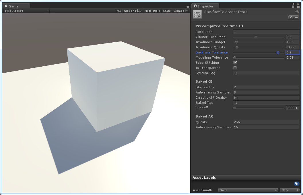 how to create lightmap in unity