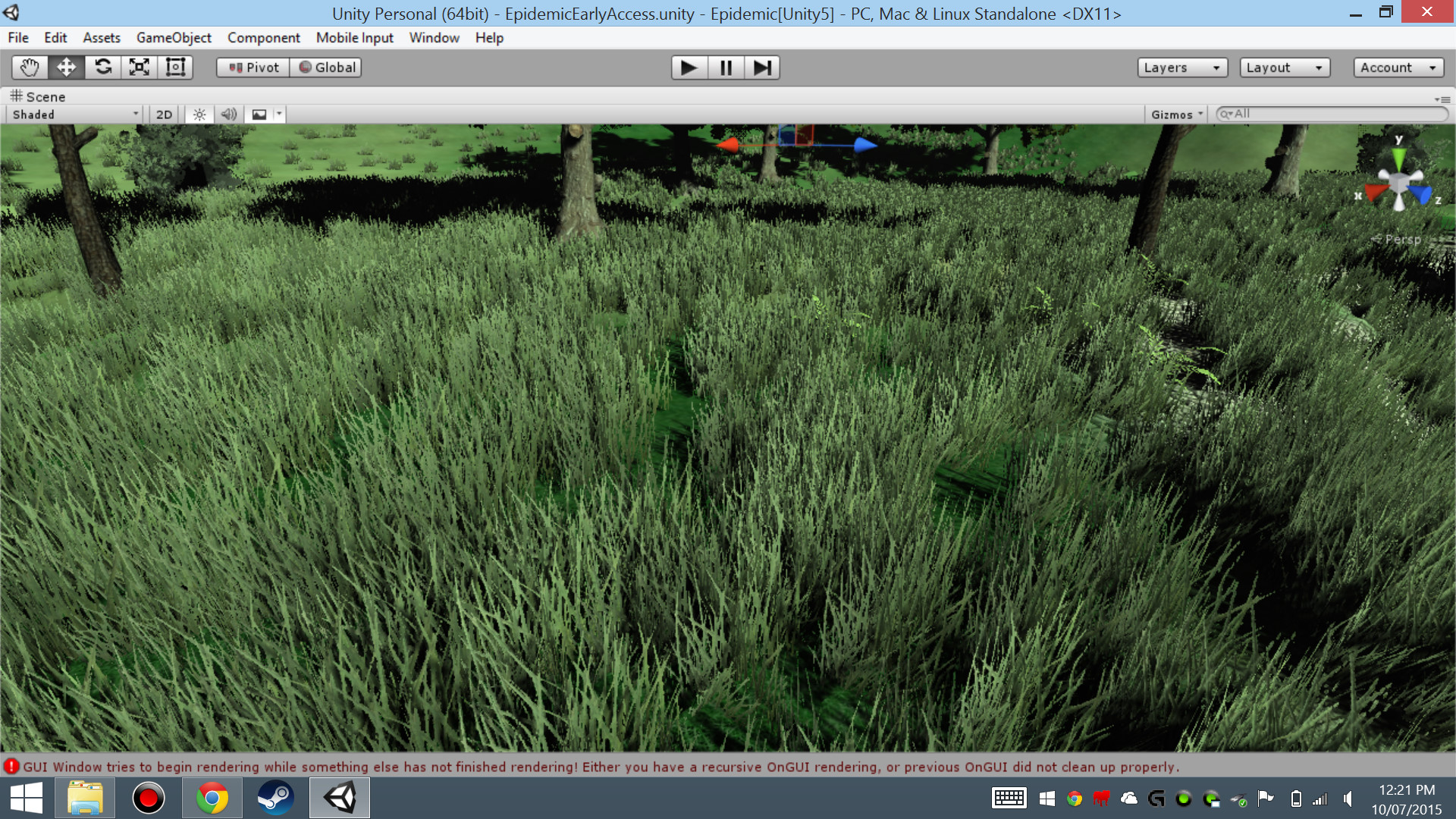 BEST WAY OF MAKING GRASS! looks a lot like speed tree grass