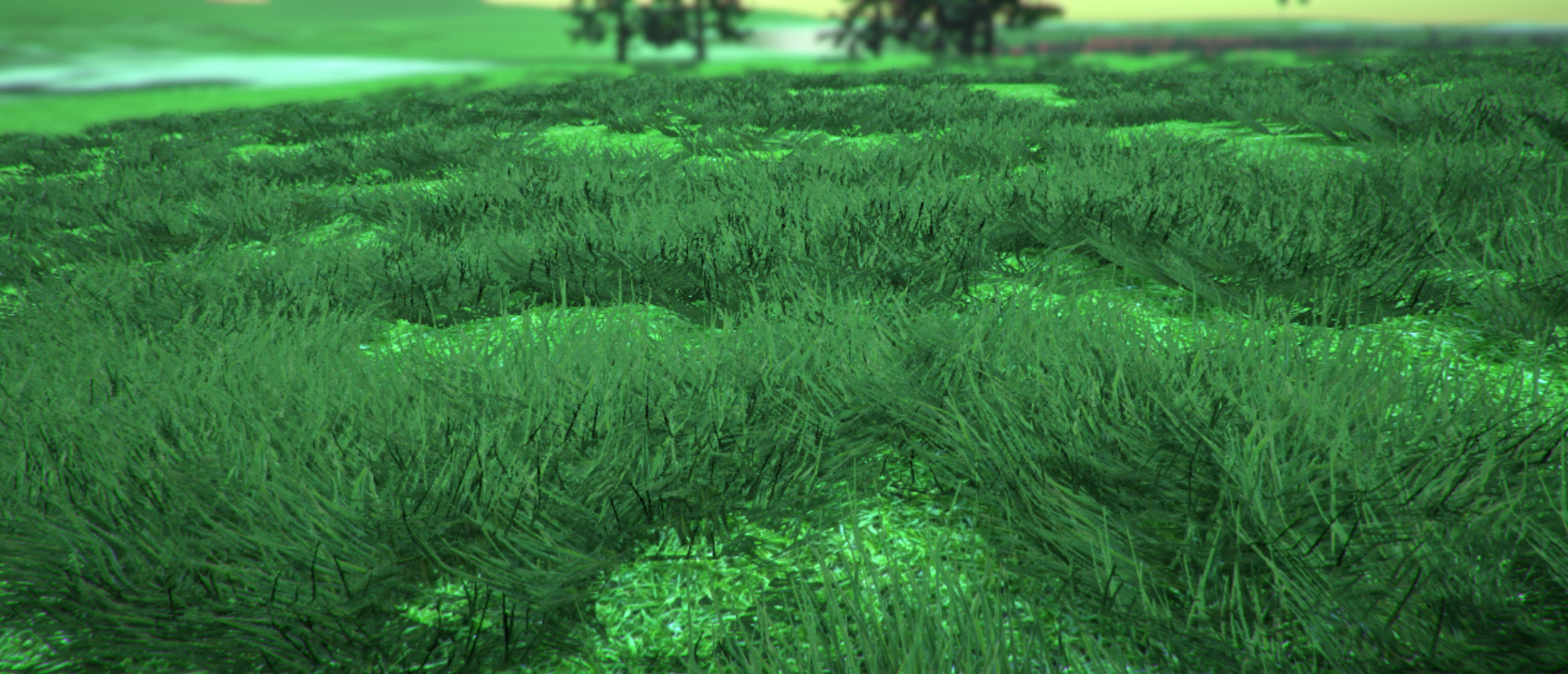 BEST WAY OF MAKING GRASS! looks a lot like speed tree grass, runs as