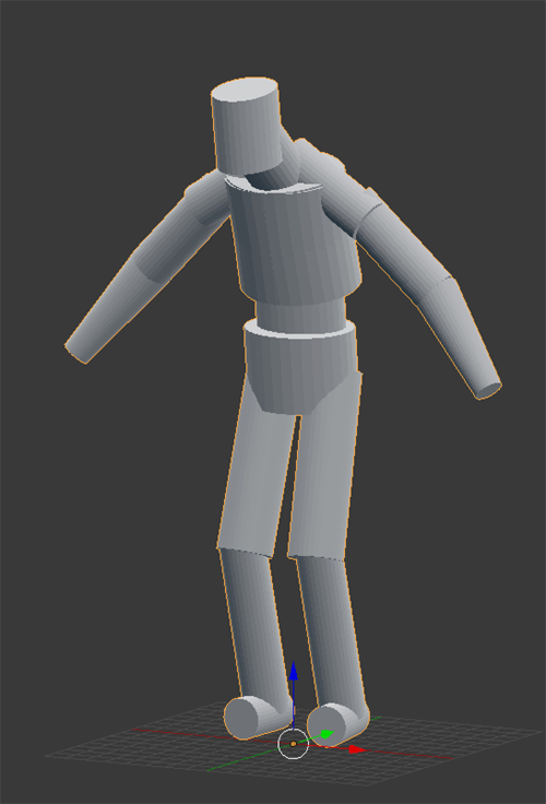 From blender to unity a humanoid creature guide unity forum i put my cylinders were i need them then use the boolean mod to combine them then i move the whole thing a little on the x axis mirror it solutioingenieria Images
