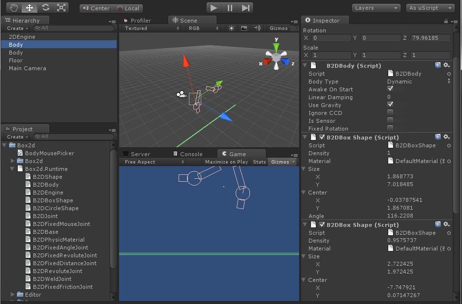 Box2D C# Port + Unity - Unity ...