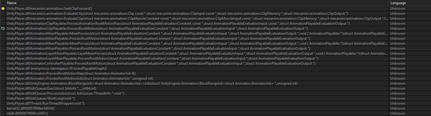 IL2CPP random crashes on Windows Standalone - Unity Forum