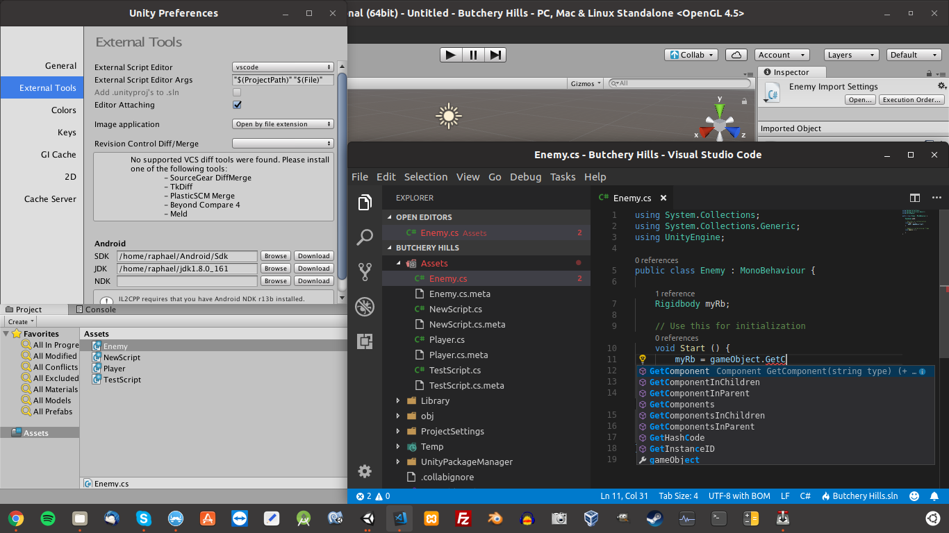 Bug - VSCode for Linux not opening projects correctly