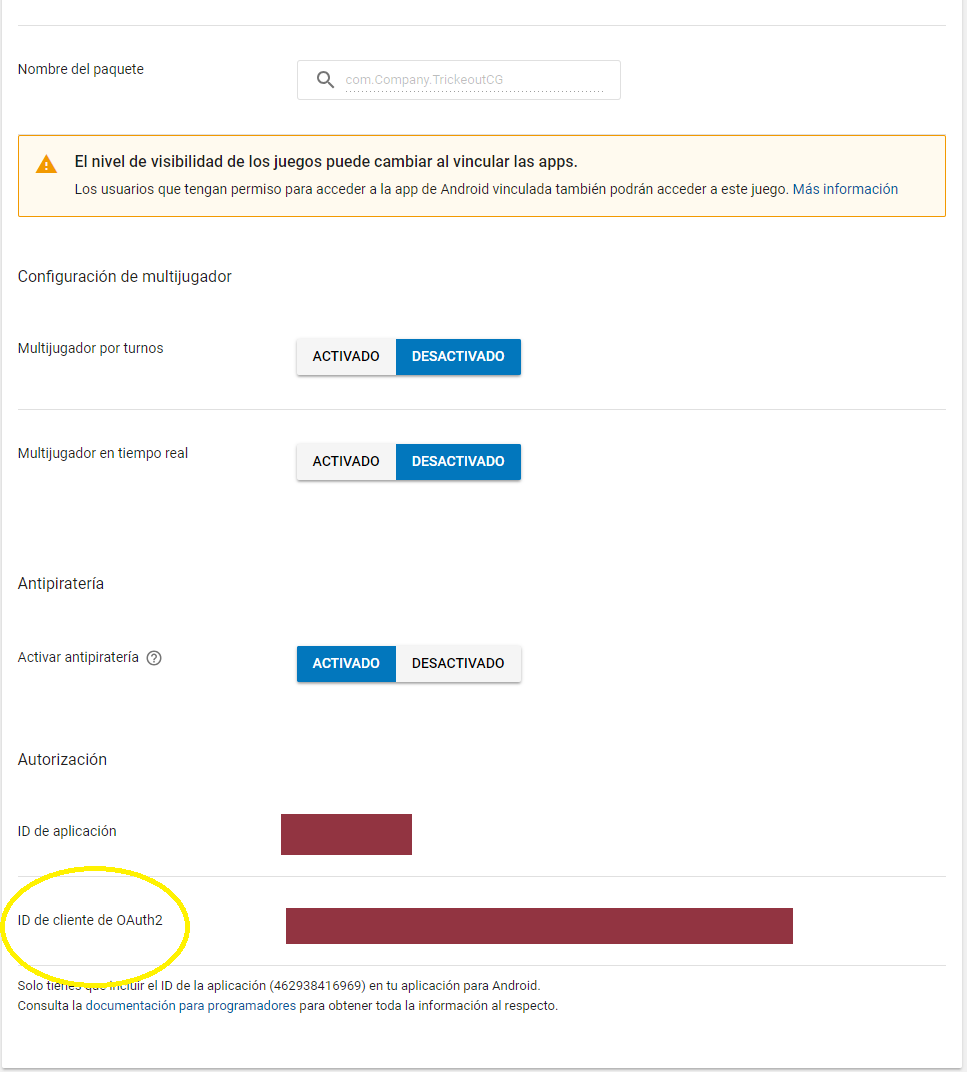 Problem with OAuth2 client ID, does not load LeaderBoard - Unity Forum