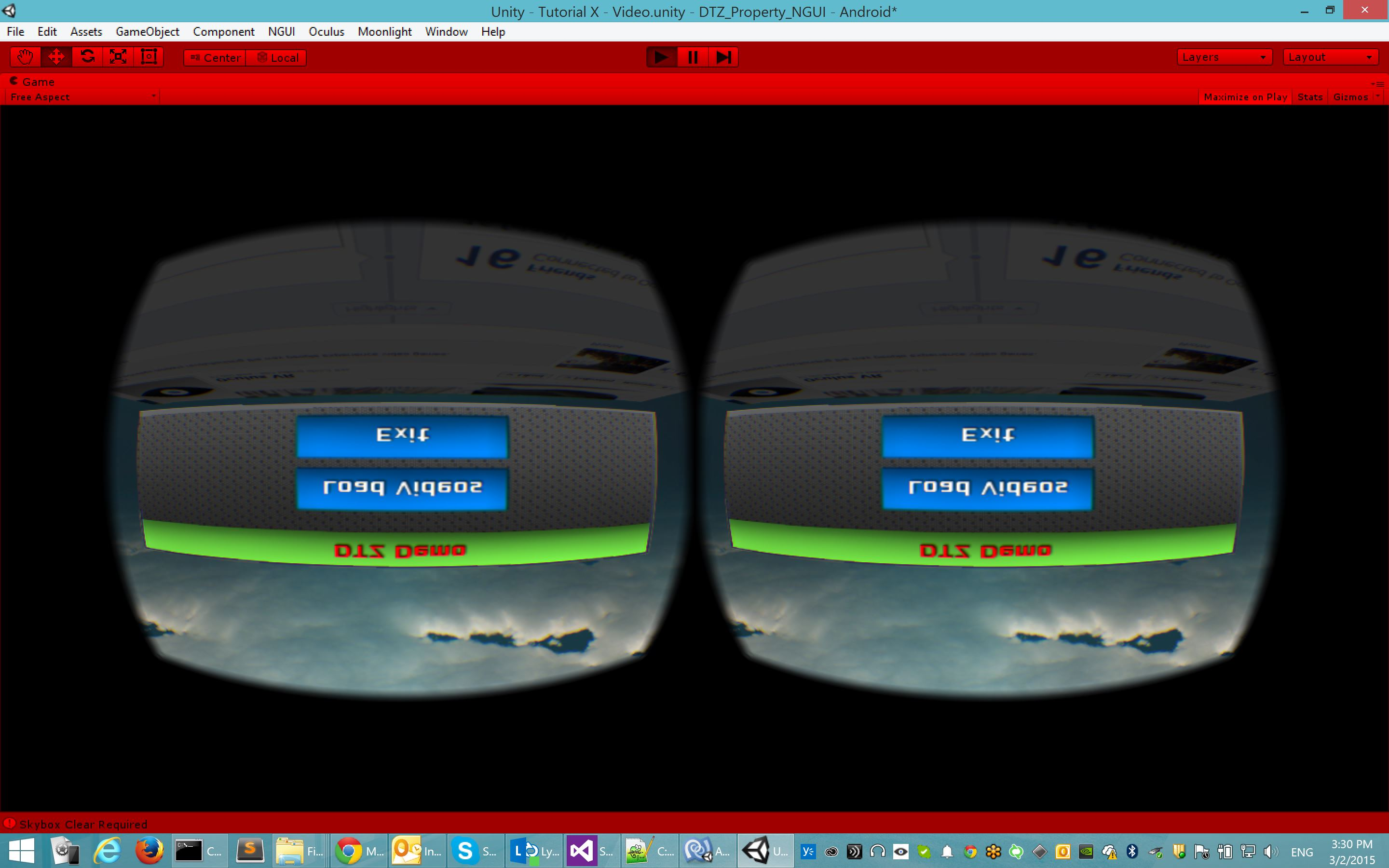 capture samsung gear vr touch input with unity - Unity Forum