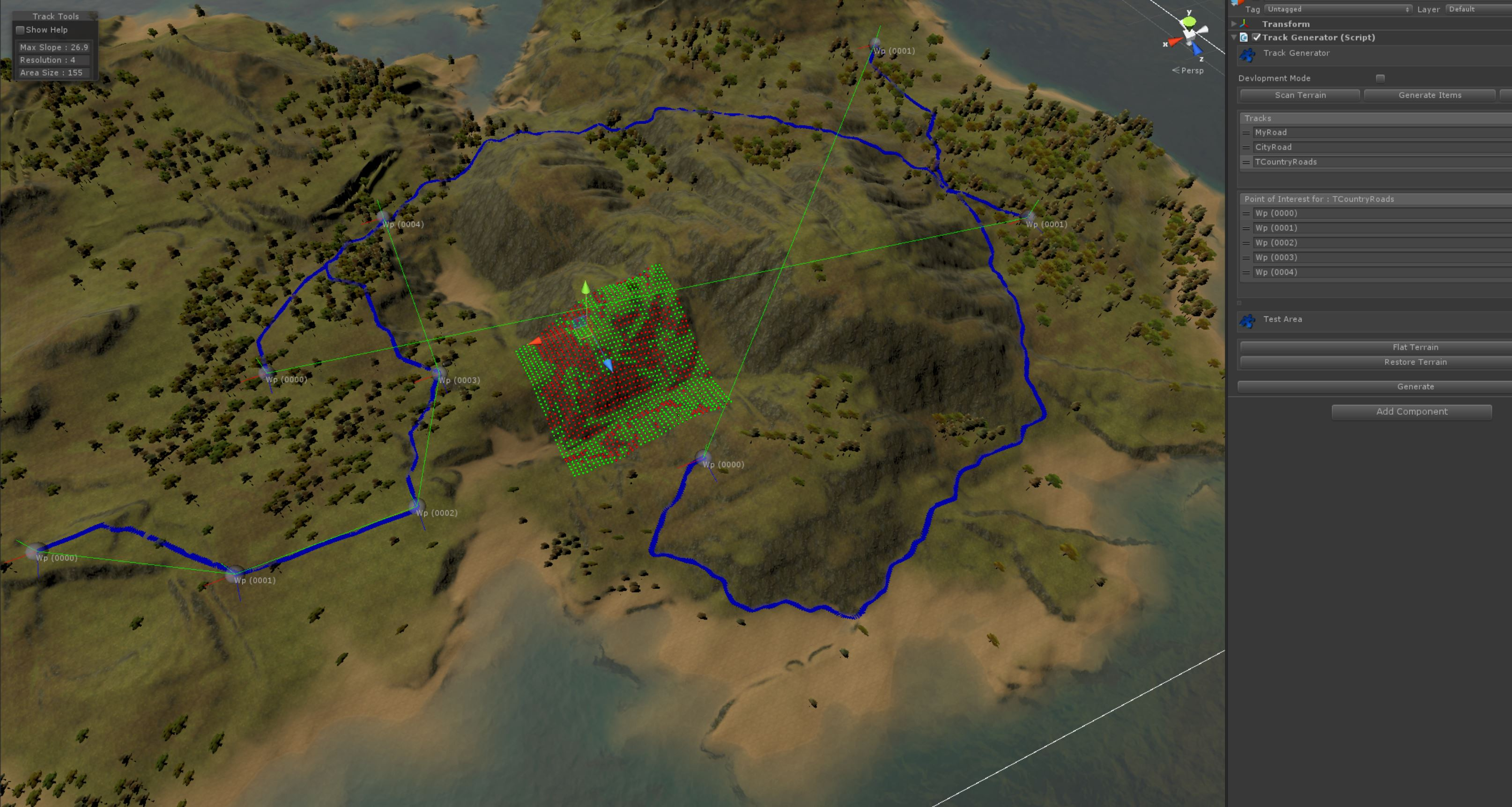 Gaia aaa terrain generator procedural texturing planting and captureg gumiabroncs Images