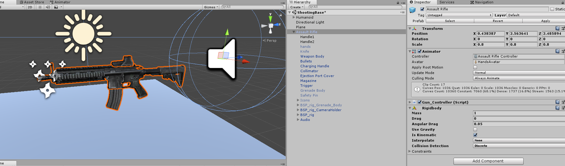 Unable to grab object with Oculus Touch - Unity Forum