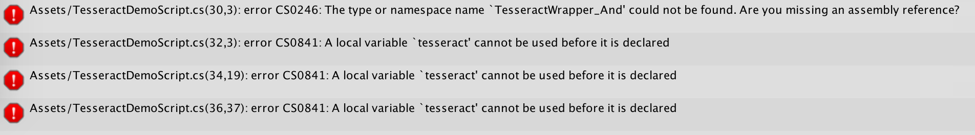 Unity wrapper - Google Tesseract OCR - Unity Forum