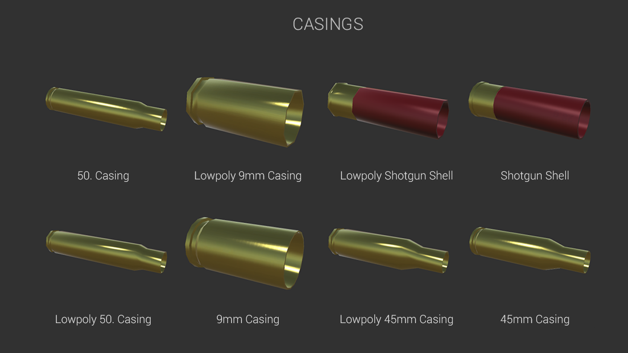 how to make an ammo trigger script unity