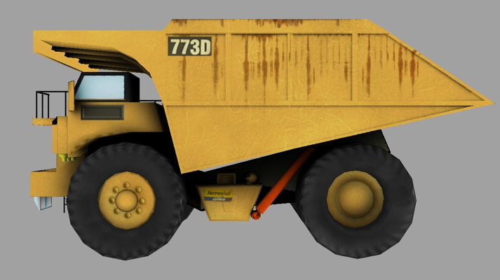 Caterpillar dump truck - Unity Forum