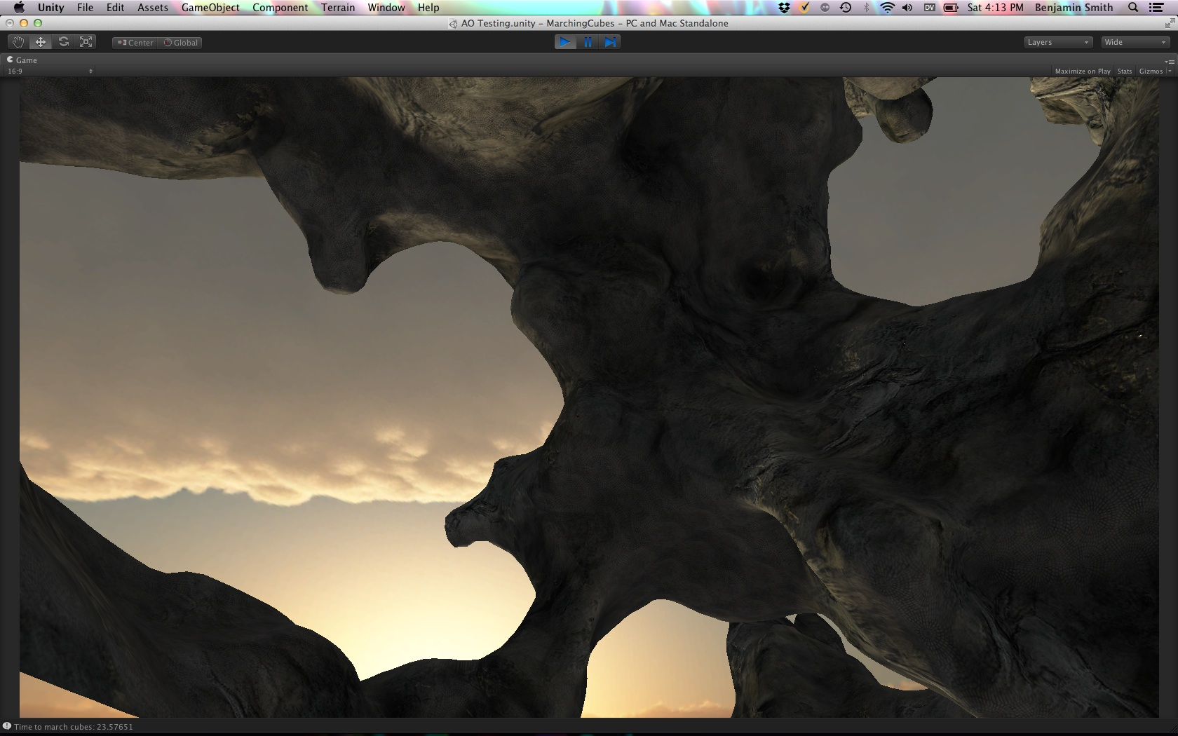Voxel tools: unreal landscape, shaders, meltable ice, trees