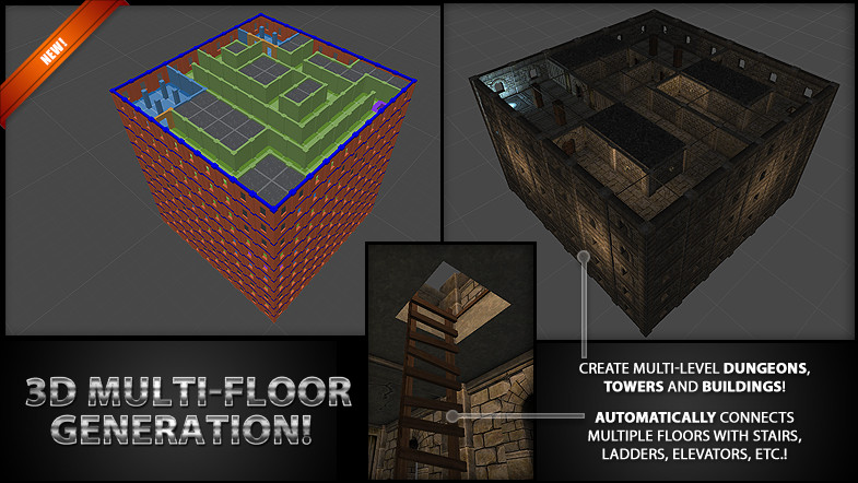 Updated] Daedalus - Random Dungeon Generator for Unity - Unity Forum