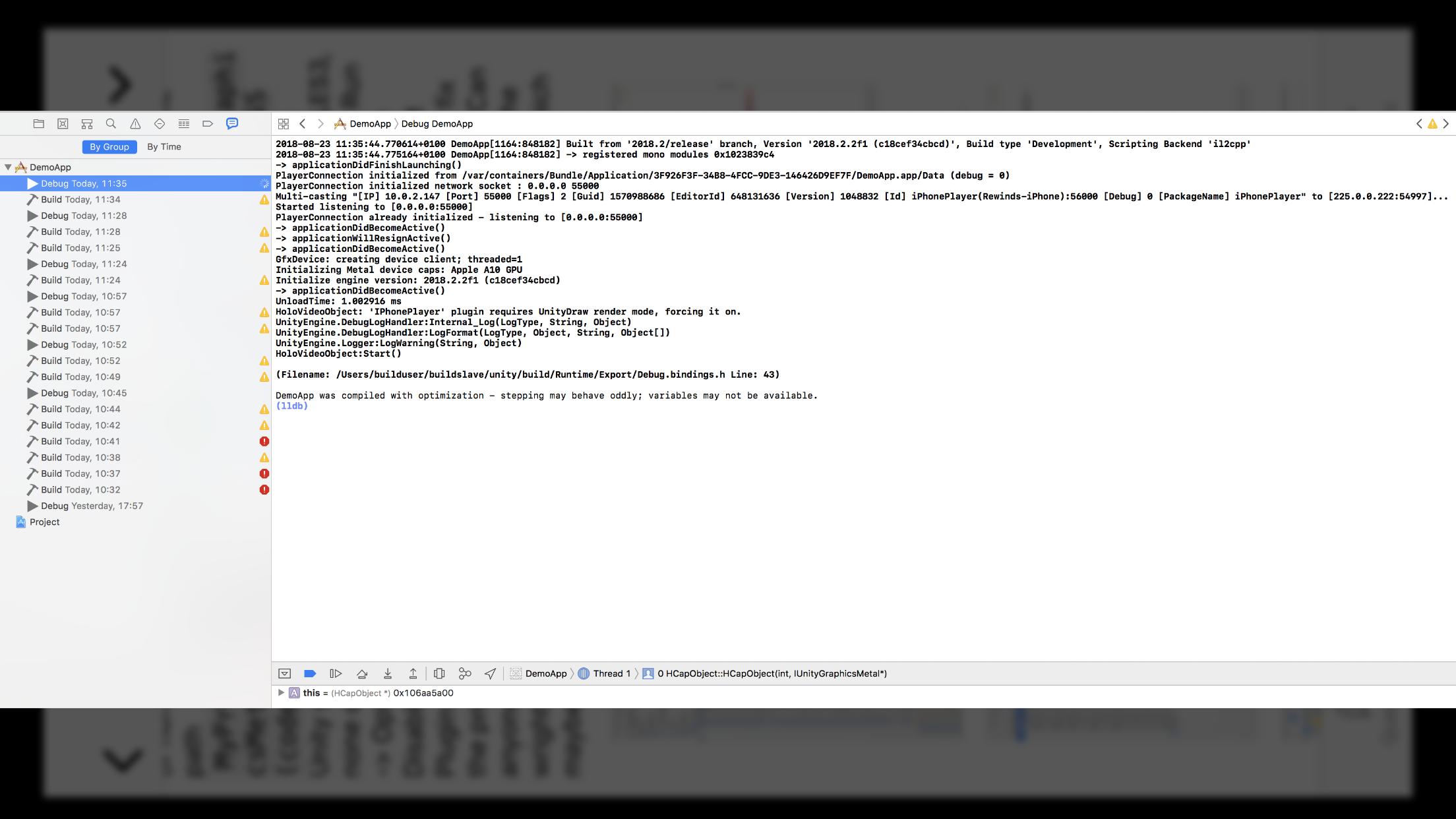 Unity integration into Xcode ( Swift 4 ) - Unity Forum