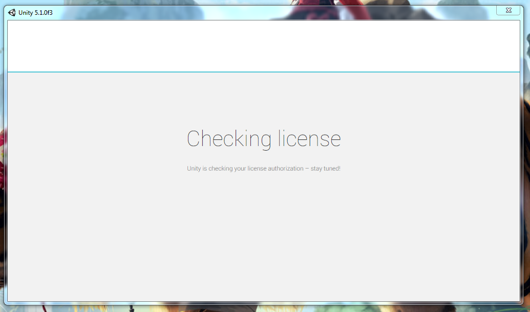 Checking license