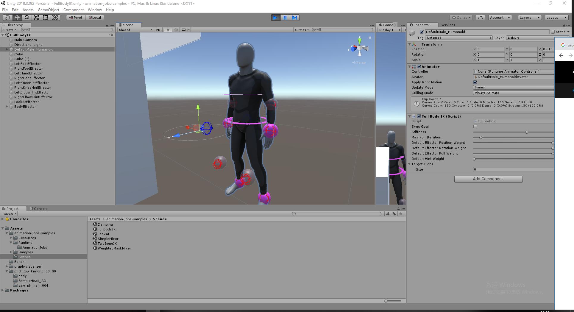How Add New IK controll to Full Body IK demo? - Unity Forum
