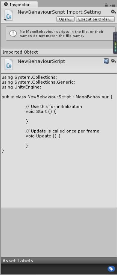 My unity engine can't run any c# scripts ,so dumb - Unity Forum
