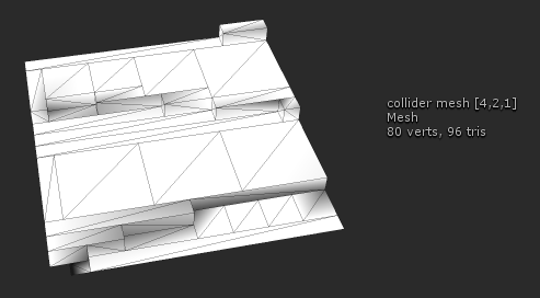 how to create a mesh collider