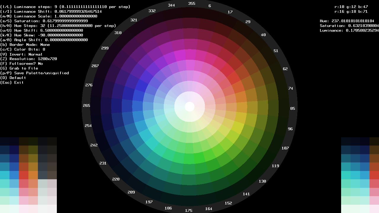 Color Wheel Generator Tool Unity Forum