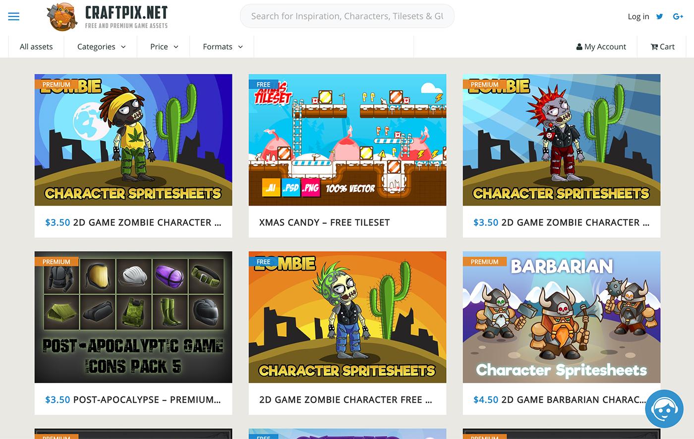 Top 10 Best 2D Game Asset sites - Unity Forum