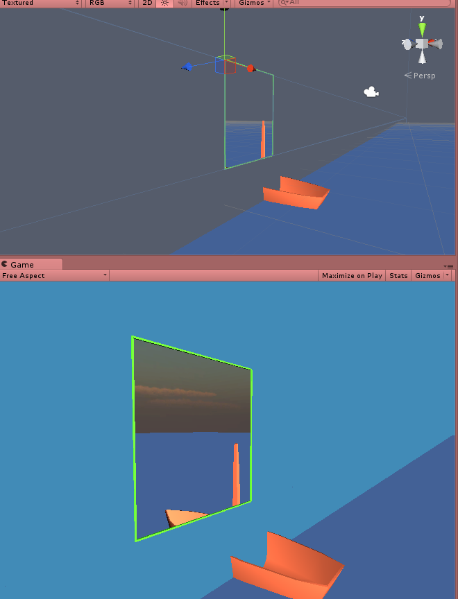 How to cull/render to through a 'window'? - Unity Forum