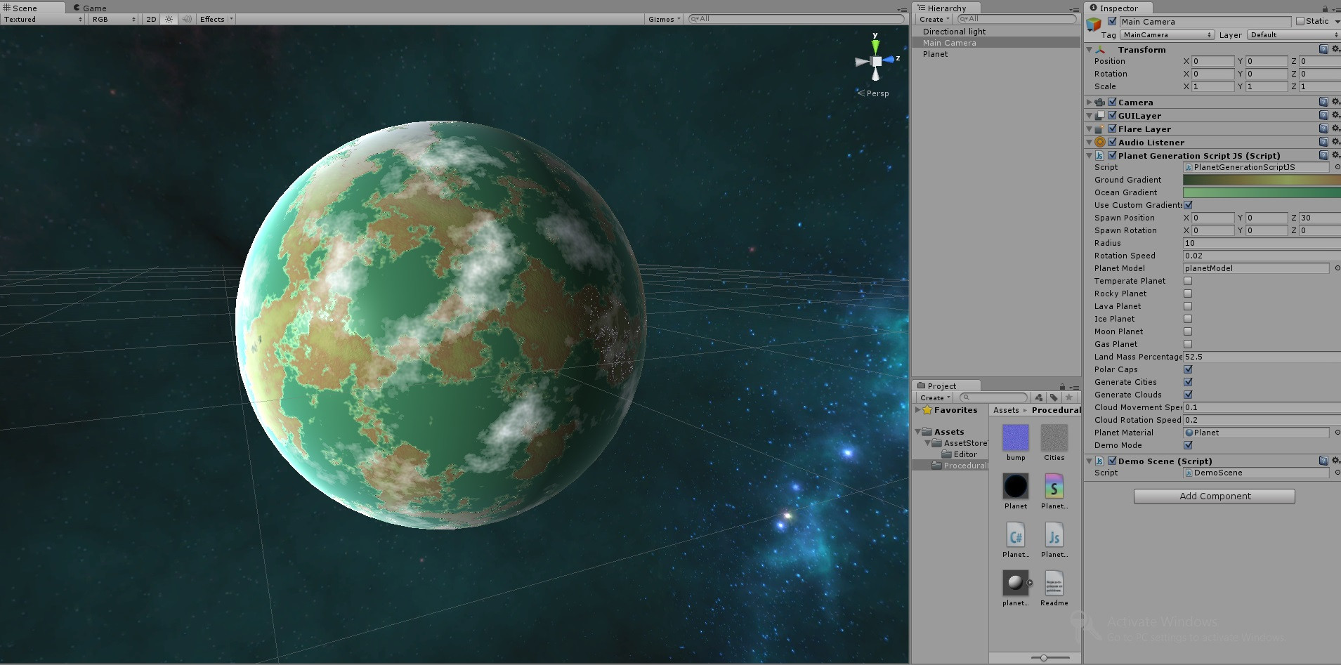 Truly) Procedural Planet Generator - Unity Forum