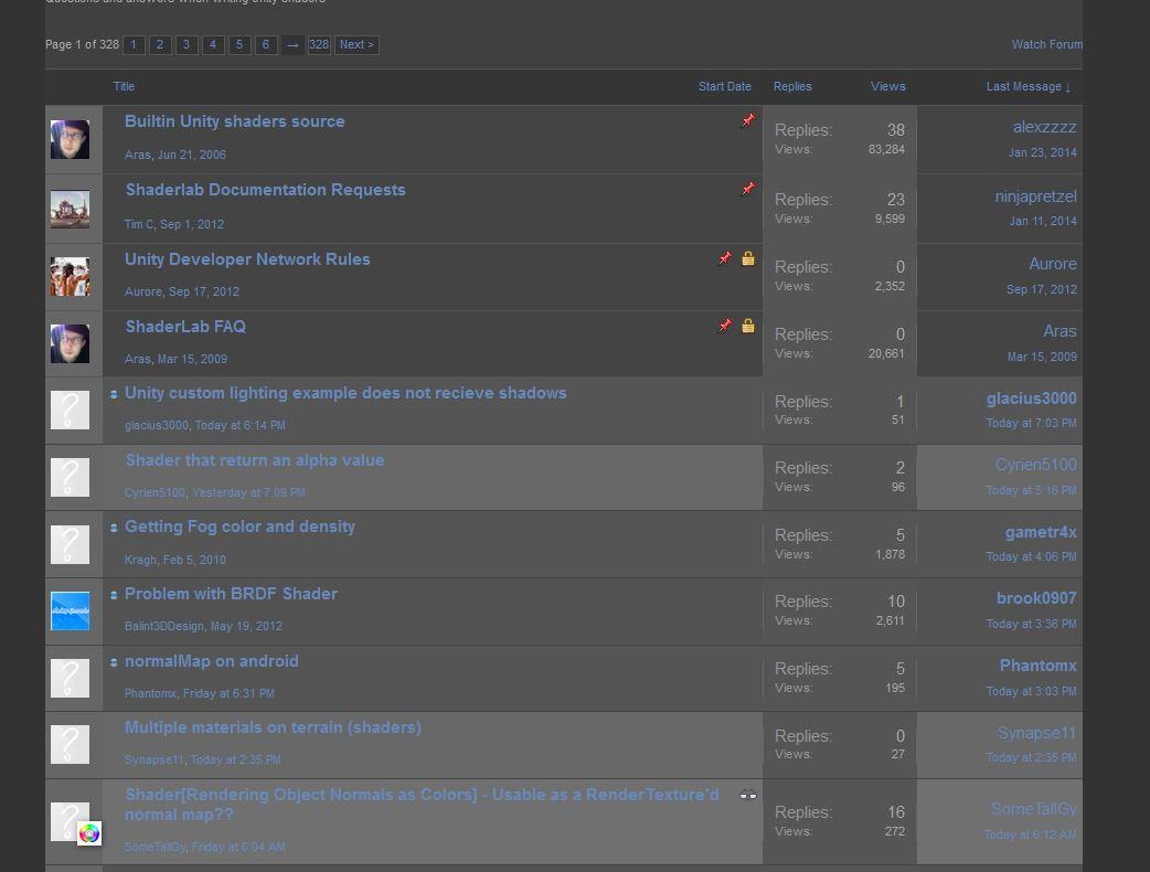 Dark Forums including unread indication.JPG