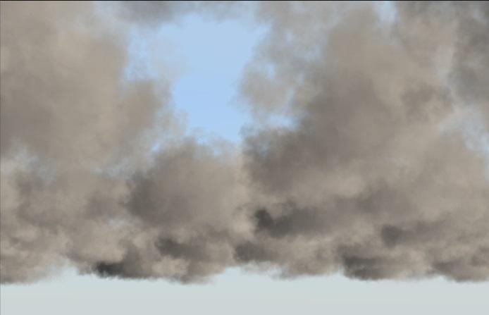 Volumetric Clouds Unity