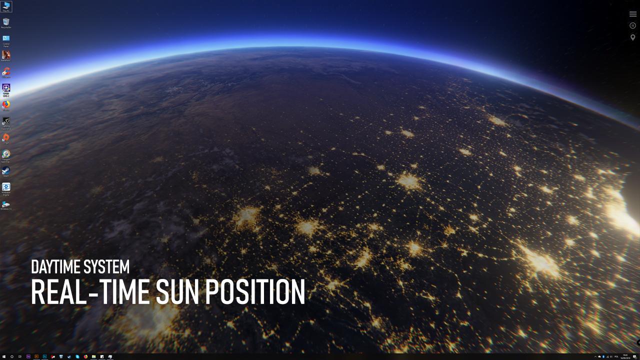 Pc 3d Earth Time Lapse Pc Live Wallpaper Steam Version