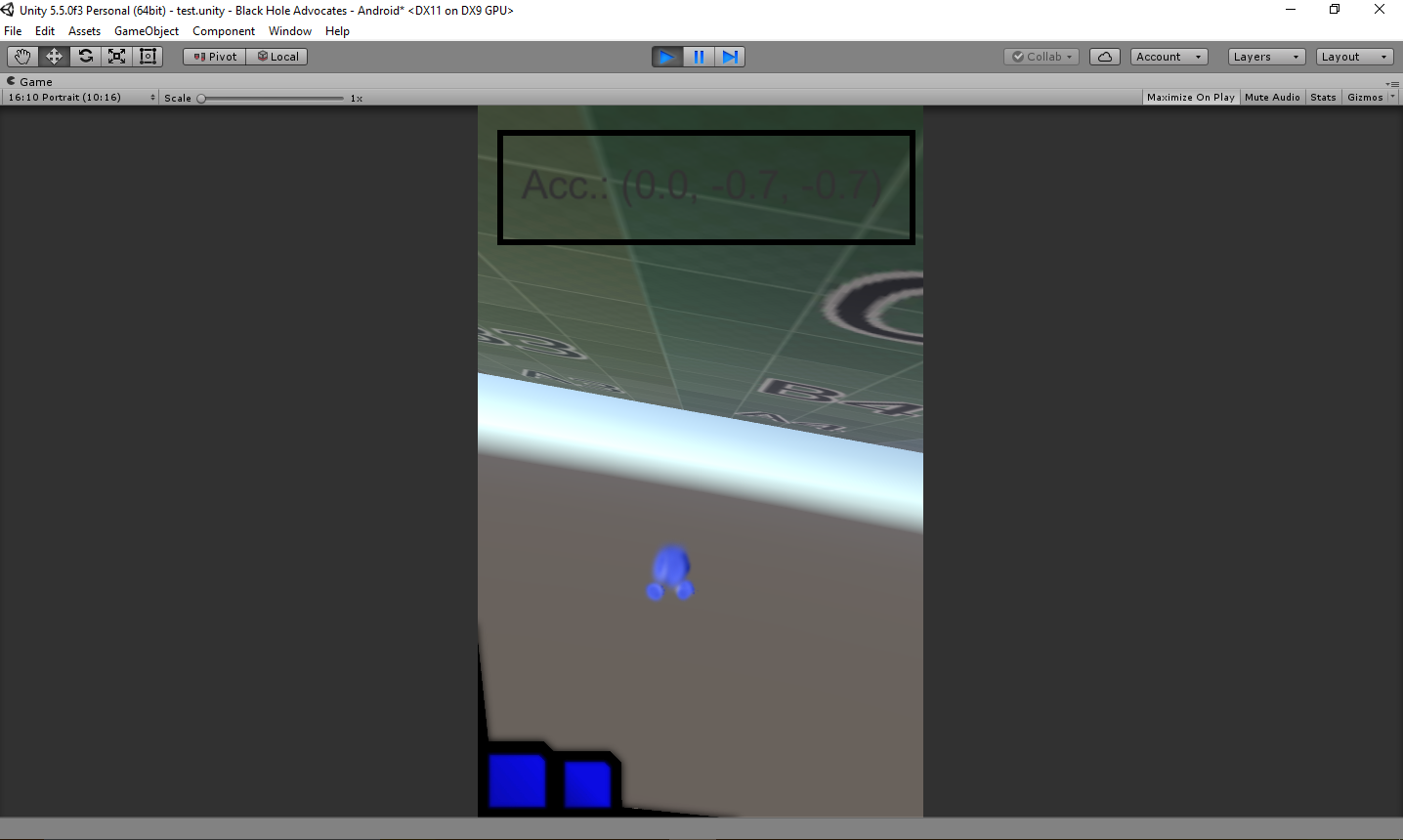 Unity, and the Accelerometer vs  the Gyroscope: A Complete