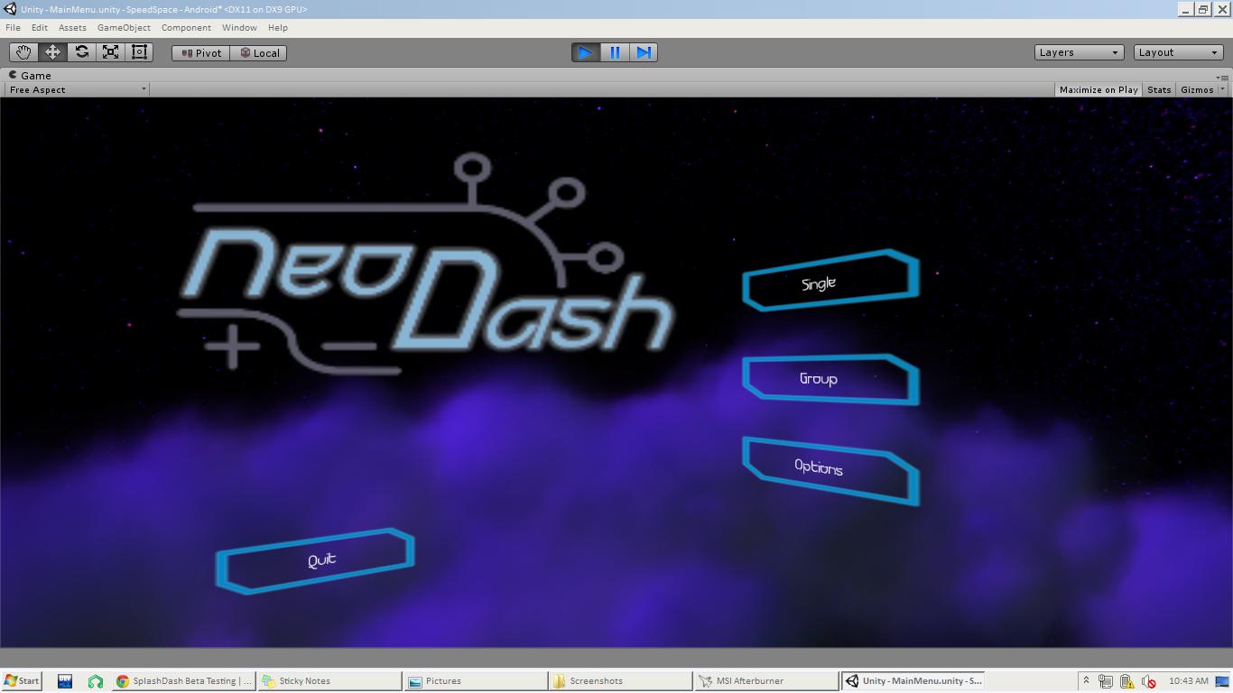 WIP] Alternator Power: (New working title) Arcade racer for Windows